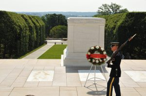 Soldier Guarding the monuments
